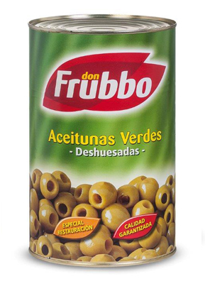 Olives Verdes sense Pinyol 280/320 4250 ml
