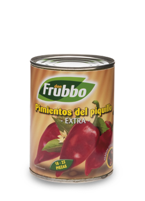 "Poivrons du ""Piquillo"" Entiers 18/22 Extra 425 ml"