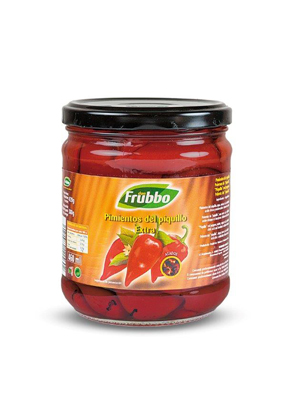 "Poivrons du ""Piquillo"" Entiers 20/25 Extra 460 ml"