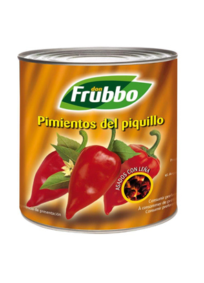 "Poivrons du ""Piquillo"" Entiers 80/100 Extra 2650 ml"