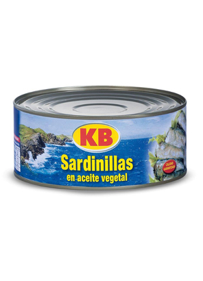 Small Sardines in Vegetable Oil 65/75 RO-900